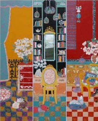 嘉应学院教师作品入选2017中国(厦门)漆画展