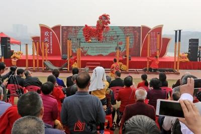 逛公园玩游戏赏艺术…梅州人的春节这样过