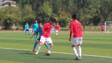 梅县高级中学0:1惜败海南队获亚军 再次进入全国总决赛