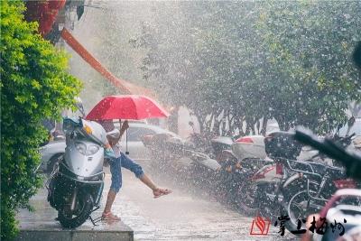 梅州等你好久了!刷屏的大雨