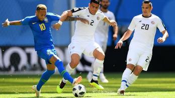 补时连进两球!巴西2:0战胜哥斯达黎加