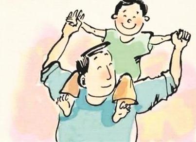 小记者丨勤劳的父亲